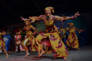 Wasafoli dancers, African Dance and Drum Troupe, Trinidad