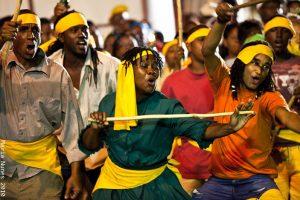 Actors, Kambule, Carnival, Trinidad