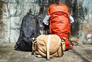 Mountain hiking backpacks