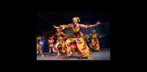 Dancers, Wasafoli, dance and drum troupe, Trinidad