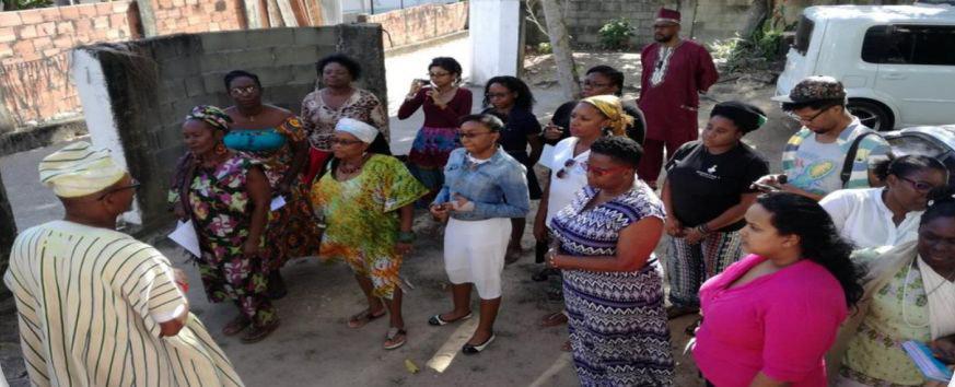 Tour group, Orisha/ African Spiritual Tour, Trinidad
