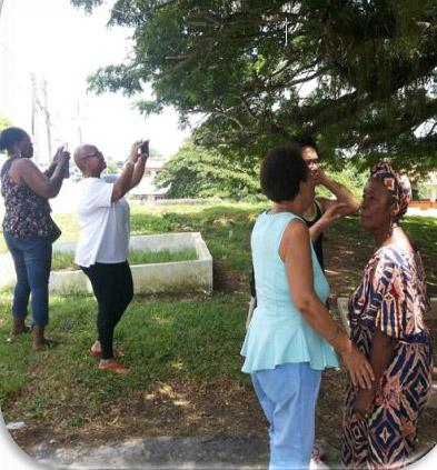Group on Merikins Tour, Trinidad
