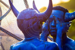 Blue Devils, Traditional Carnival Characters, Jouvert, Carnival, Trinidad