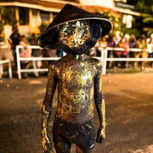 Douen, Traditional Carnival Character, Trinidad