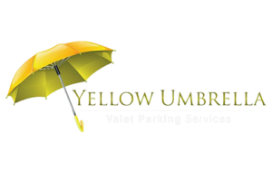 logo for yellow umbrella valet services, Trinidad