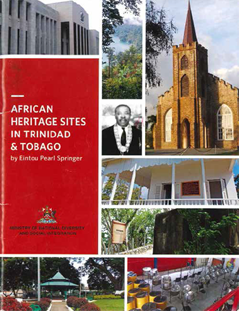 Book Cover, African Heritage Site of Trinidad and Tobago