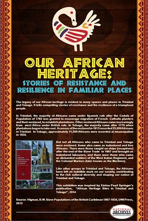 African heritage sites in Trinidad