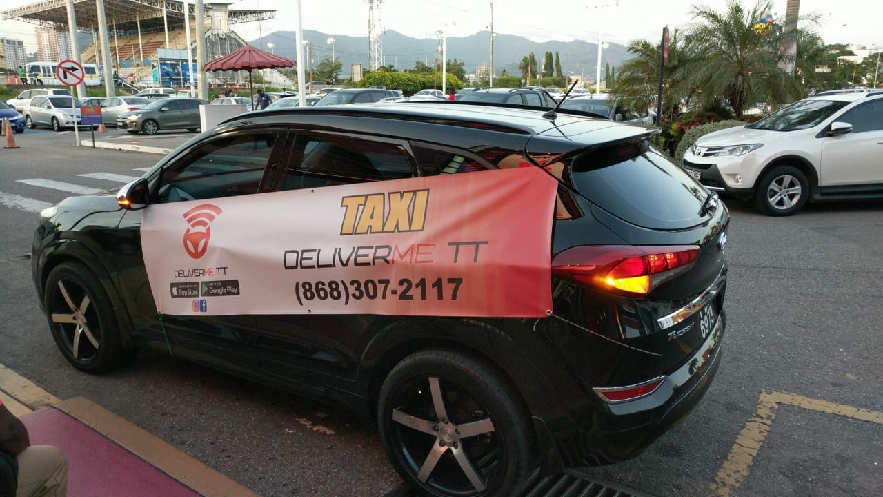 Vehicle, DeliverMe TT, Taxi Service, Trinidad