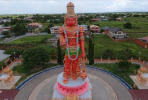 Hanuman statue Trinidad