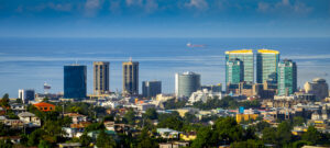 Port of Spain, capital of Trinidad and Tobago