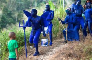 Blue Devils, Melting Pot Travel, Trinidad Carnival