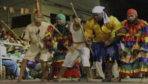 Part of Kambule, Carnival Friday, Trinidad