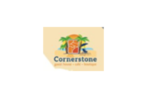 logo for Cornerstone villa, Mt. Irvine, Tobago
