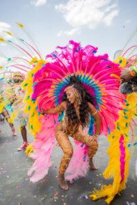 Female Masquerader, Carnival Trinidad