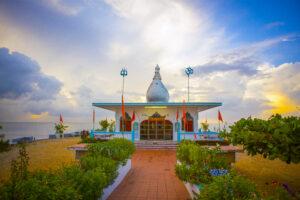 Siewdass Sadhu Shiva Mandir Temple in the Sea, Trinidad