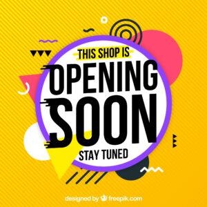 opening soon image